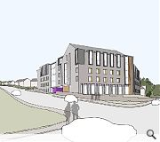 Caledon House will be the first project to complete