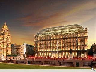 Work begins on g1 George Square redevelopment