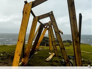 Architecture students deliver remote Isle of Lewis viewpoint