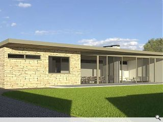 Permission sought for self-build 'walled garden' Melrose bungalow