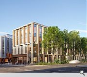 An emphasis on health and wellbeing prioritises green space as well as facilities such as a gym