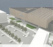 The new leisure centre will be built next to Clydebank College