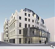 Hotel in store for department store