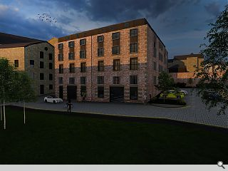 Dundee's jute legacy protected by apartments plan