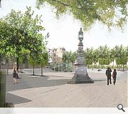 Bristo Square, though popular with skaters, isn't as attractive a place to linger as it could be