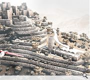 Pushing further afield Daniel Tihanyi of the University of Strathclyde envisages this contextual intervention to a Yemeni mountain village