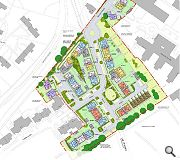 A network of new streets and green spaces will knit the scheme into the surrounding area
