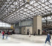 Concourse improvements seek to instill a greater sense of arrival and departure