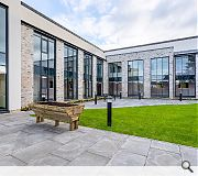 Expansive glazing enhances qualities oflight and space