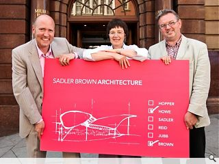 North east merger sees creation of Sadler Brown Architecture