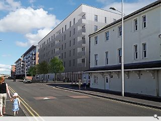 Dundee dockside earmarked for 122 waterfront flats