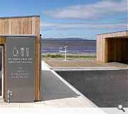 The project forms part of a wider waterfront regeneration project in Stranraer