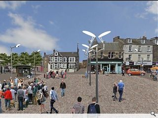 Concept designs for £8m Leven regeneration published