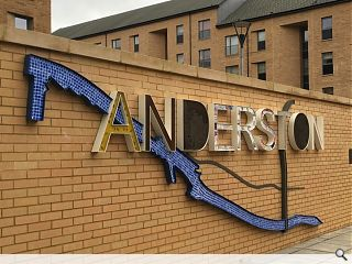 Anderston mural marks ongoing estate regeneration