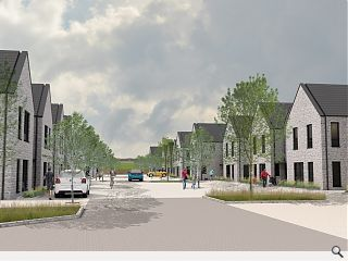 Pitched roof Maybole blocks to deliver 22 homes