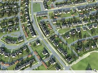 Chapelton visualisation highlights full scope of planned New Town