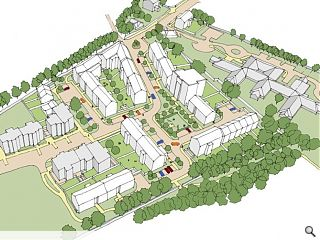 Housing plan submitted for former Eastern General Hospital
