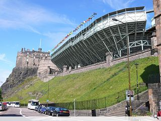 Royal Edinburgh Military Tattoo grandstand nears completion