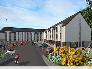 Flood-proof Pitlochry hotel proposed