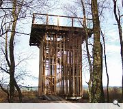 Flanders Moss Viewing Tower, Robin Baker Architects