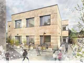 Classroom annexe to rise at B-listed Marchmont school