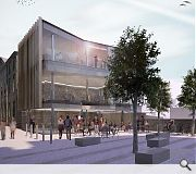 The ground level will be raised to align with level one of the new St James Centre
