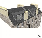 New dormers will allow a more usable attic space to be created
