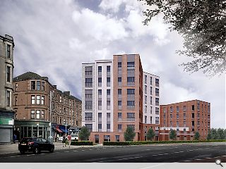 Govan rebuilds lost density with 47 amenity flats