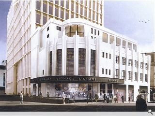 Art Deco Glasgow cinema foyer to be reborn