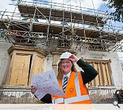 The multimillion redevelopment is scheduled for completion in September