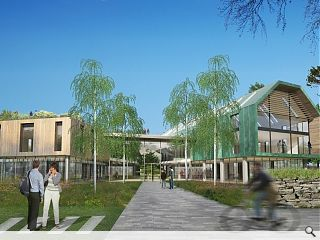Inverness campus work commences