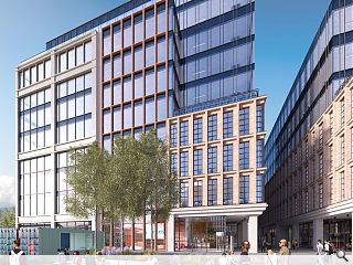 Barclays draw from history ahead of Glasgow campus unveil