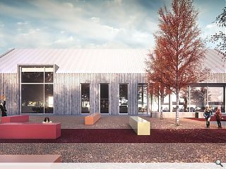 Tayport community hub goes in for planning