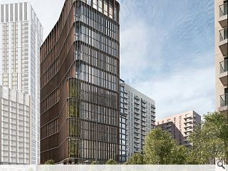 Stratford twin tower scheme to rise at Olympic Park