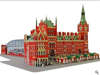 Lego Brick City exhibition opens at Paisley Museum