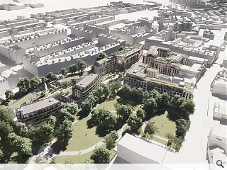 Plans go in for Edinburgh's New Town Quarter