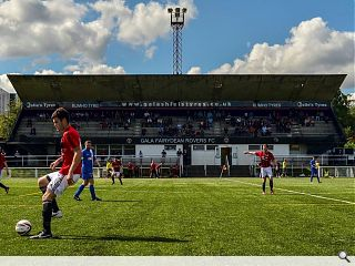 A-listed Galashiels stadium makes its last stand