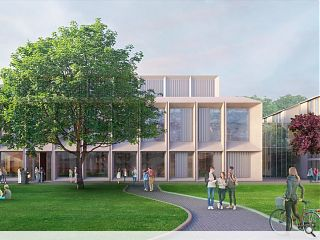 Aberdeen business school takes concrete step forward