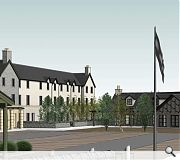 The development seeks to employ a Highland vernacular