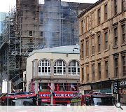 Sauchiehall Street was already reeling from an earlier nightclub fire that left another block cordoned off