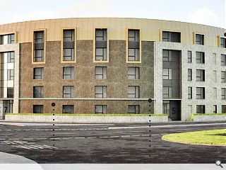 Govan regeneration continues with new infill housing