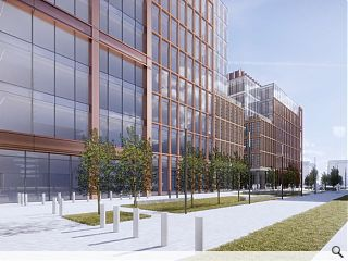 Quayside Park to signify Tradeston rejuvenation at Buchanan Wharf