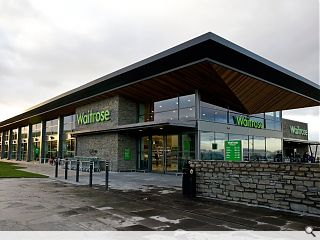 Waitrose Helensburgh opens its doors
