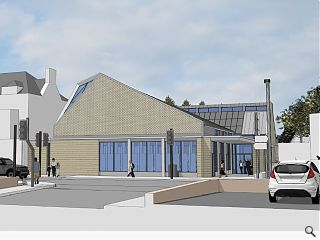 Lee Boyd submit plans for Monifieth Church