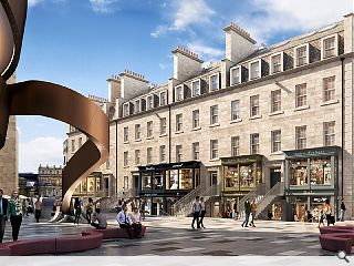 Edinburgh St James student flats give way to a hotel and retail