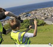 Macduff pupils at play for new gateway