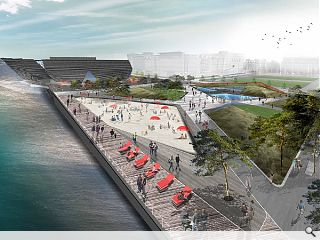 'Urban beach' to bring Dundee Waterfront to life