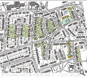 The proposed masterplan includes redevelopment of the former Highdykes Primary