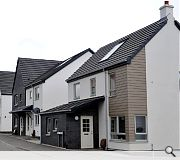The total project cost for the new homes, was around £9m and funding assistance of approximately £4.5m was provided by the Scottish Government.