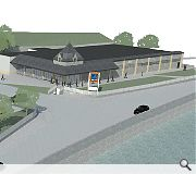 A supermarket is planned for the mill site